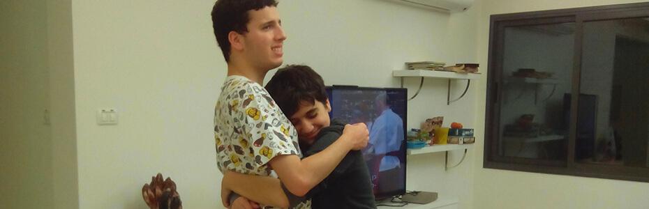אתה אח שלי, ואני פשוט אוהב אותך!